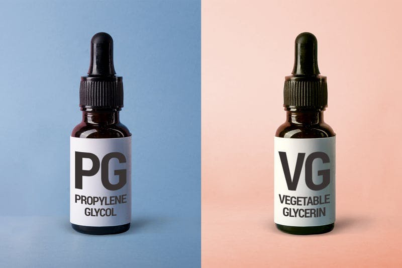 Juice pod PG và juice pod VG