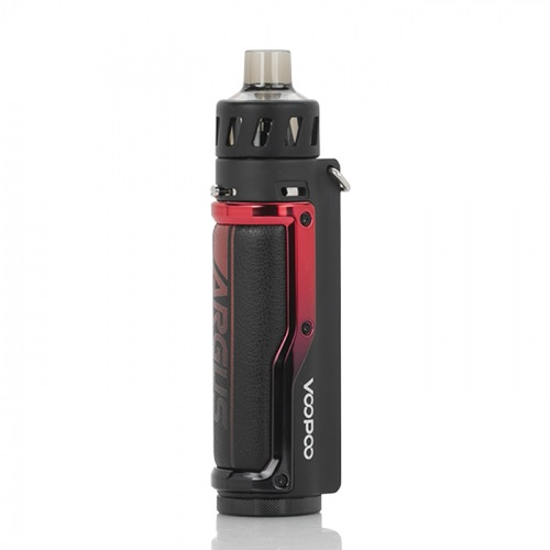 Bộ Pod System Voopoo Argus Pro Pod Kit Litchi Leather Red